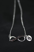 Flying C Infinity Sign Necklace
