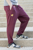 Nike Dri-Fit Maroon Flying C Pants