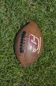 "Vintage Style 8.5"" Baden Football With Flying C"