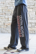 Central Michigan Chippewas Graphite Sweatpants