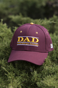Dad - Line Central Michigan University Maroon Hat