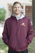 Line Flying C Central Michigan Maroon Jacket