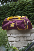 Duffel Bag - Flying C Maroon & Gold