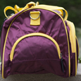 Duffel Bag - Flying C Maroon and Gold