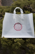 "Clear Frosted Seal 16""x6""x12"" Gift Bag"