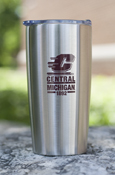 Flying C Central Michigan 1892 20Oz Stainless Steel Tumbler