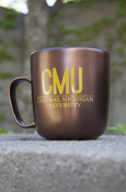 C M U Central Michigan University Copper-Look Mug
