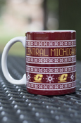 Central Michigan Holiday Sweater 11Oz Mug