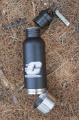 Bottle Armour - Flying C Black & Steel - Insulates Your Glass Bottles