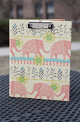 Animals - Elephant Padfolio With Clipboard