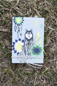"Animals - Wolf Pocket Notes 3.25""X4.75"""