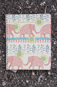 Animals - Elephant College Ruled Spiral Notebook