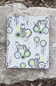 Animals - Wolf College Ruled Spiral Notebook