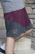 Maroon Flying C Nike Shorts