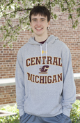 Classic Under Armour Central Michigan Flying C Coldgear Hoodie