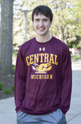 Central Michigan Flying C Under Armour Heatgear Long Sleeve