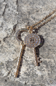 Good Work(S) Blessing Keys Necklace - Be Strong & Purpose