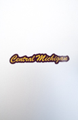 Small Decal - Script Central Michigan