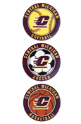 Small Decal - Central Michigan Basketball