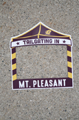 Tailgating In Mt Pleasant Magnetic Picture Frame