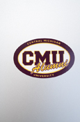 Small Decal - Central Michigan C M U Alumni