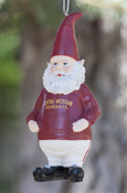 Gnome With Central Michigan University Shirt Ornament