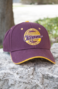 Circle Central Michigan University Chippewas Maroon Hat