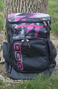 Ogio C-4 Pink And Black Backpack