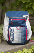 Ogio C-4 Blue And Pink Backpack