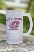 Central Michigan Flying C Multi-Words Frosted Tankard