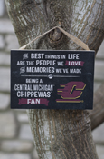 """The Best Things in Life"" Flying C Small Plaque (5.5x4"")"