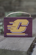 "Flying C Maroon Small Plaque (5.5X4"")"