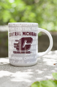 Central Michigan Flying C Multi-Words 15Oz Mug