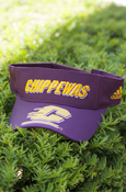 Chippewas Flying C On Brim Maroon Adidas Visor