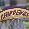 Bucker Hat - Flying C with Chippewas under Brim