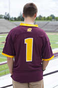 Jersey - Chippewas #1 with Small Flying C on Back
