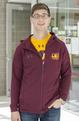 C M U Fade Chippewas Ribbon Under Armour Jacket