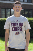 Fire Up Chips Flying C Over Michigan Adidas T-Shirt