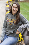 Central Michigan Chippewas Flying C Soft Fleece-Lined Ladies Hoodie