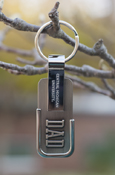 Dad - Central Michigan University Silver Key Chain
