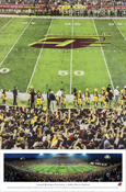 "Central Michigan 13.5 X 40"" Panorama Print"