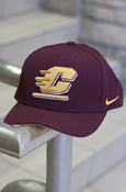 Flying C Nike Maroon Hat With Chippewas On Back