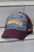 Central Michigan Chippewas Heathered Nike Adjustable Hat