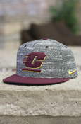 Flying C Heather Gray Nike Snapback