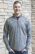 Flying C Central Michigan Nike Dri-Fit 1/4 Zip