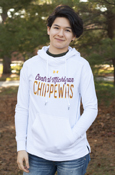 Central Michigan Chippewas White Under Armour Ladies Hoodie