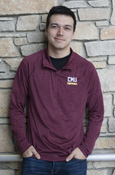 C M U Chippewas Heather Maroon Charles River 1/4 Zip