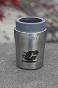 Flying C Stainless Steel Vacuum Insulated 12 Oz Can Koozie