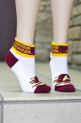 Flying C Central Michigan Ankle Socks