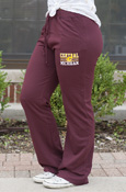 Central Michigan Flying C Ladies Maroon Sweatpants